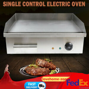 Commercial Electric Griddle Grill Teppanyaki Scoop Machine 3000w
