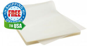 Thermal Laminating Pouches 3 Mil Clear Letter Size Laminating Sheets 8 5 X