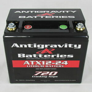 Antigravity Batteries Atx12 24 Left Oem Case Size 720cca Lithium Ion Battery Usa