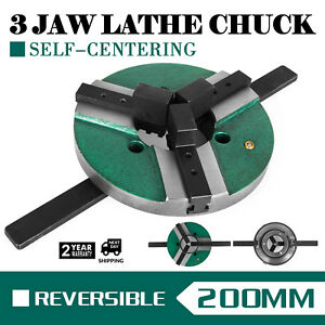 8 3 Jaw Table Chuck Wp 200 200mm Reversible Positioner Cnc Lathe Wood Turning