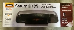 Fellowes Saturn3i 95 Laminator With Pouch Starter Kit 5735801