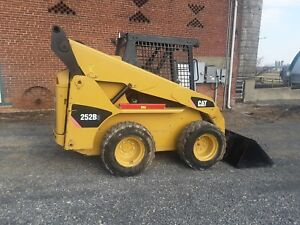 2010 Cat 252b3 Skid Steer Loader