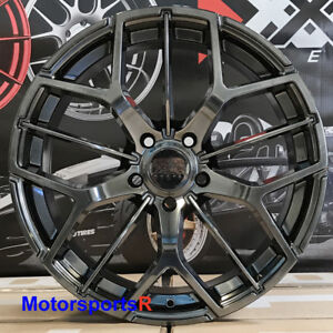 Xxr 566 Wheels 18 35 Chromium Black Rims 5x114 3 08 15 Scion Xb 11 16 Tc Hyper