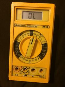Beckman Industrial Hd110 Multimeter