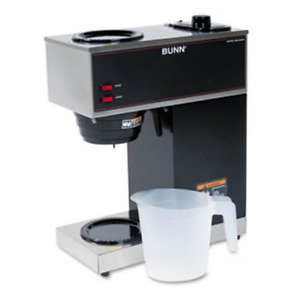Bunn o matic Pour o matic Model Vpr Coffee Brewer Stainless Steel black