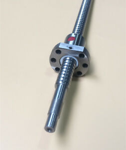 2pcs Rm2510 Ballscrew L400 700mm With Ball Nut Both End Machined capt2011