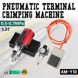 Am y10 Pneumatic Terminal Crimping Machine Tool Set Cable Good Quality On Sale