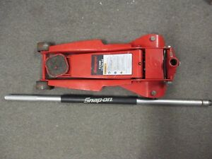 Snap On Fj300 3 Ton Floor Jack Work Great No Shipping Pickup Only