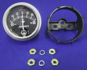 Fits Lincoln Welder Sa 200 250 Ammeter Murphy Gauge Redface Shorthood Blackface