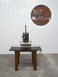 Ritter R 113 13 Spindle Line Boring Machine single Phase