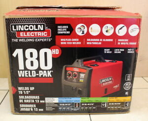 Lincoln Electric Weld Pak 180 Hd Mig Wire Feed K2515 1