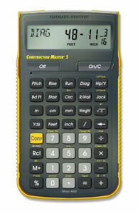 Calculated Industries 4050 Construction Master 5 Scientific Calculator