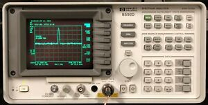 Hp 8590a Spectrum Analyzer 1mhz 1 5 Ghz