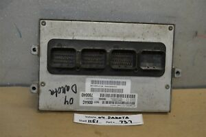 2004 Dodge Dakota 3 7l Engine Computer Unit Ecu 56031006ac Module 37 11e1