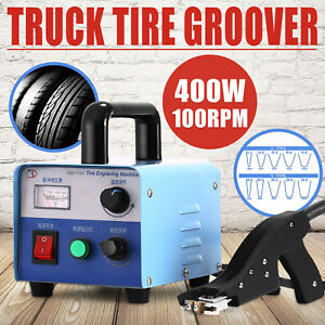 400w Truck Tire Grooving Blades Groover Iron Tire Rubber Instant on Automatic
