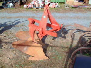 Heavy Duty Large Ford Turning Plow 2 36 Inch Blades 3 Point 5 Ft X 4 Ft