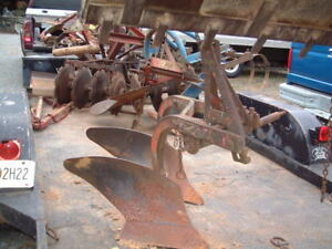 Heavy Duty Massey Double Turning Plow 3 Point Hitch