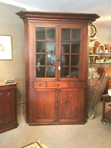 Antique Corner Cabinet Cupboard