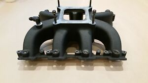 Ls7 Gm Chevrolet Intake Manifold Ls Single Plane 4150 Carb Fuel Injection Look