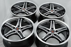 17 Wheels Rims Avalon Sienna Avenger Element Rav4 Crv Civic Eclipse Soul 5x114 3