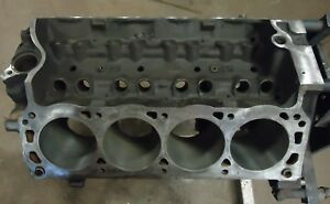 Bare Roller Block Ford Mustang Gt Lx 5 0 Xxx Used Take Out 302 Stock Engine 1991