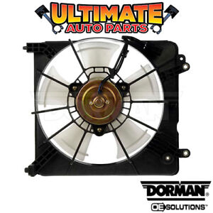 Radiator Cooling Fan 1 5l 4 Cylinder For 09 14 Honda Fit
