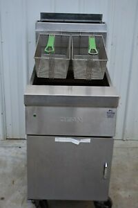 Dean Cfd160gn 75 Lb Fryer Natural Gas