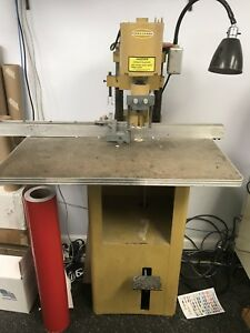 Challenge Paper Drill With Round Corner Attachment Great Unit Look Save