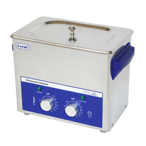 3l Home use Timer Heated Ultrasonic Cleaner For Glass cups rings 120w Dr mh30