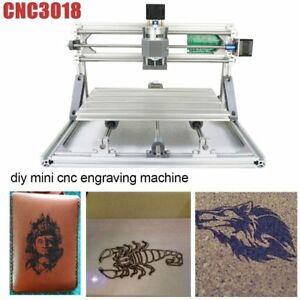3 Axis Diy Cnc 3018 Wood Engraving Carving Pcb Milling Machine Router Engrave Et