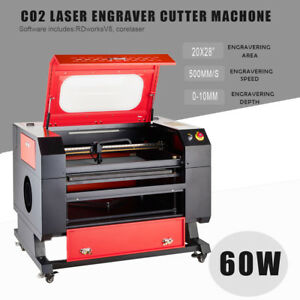 Upgraded 60w Co2 Laser Engraving Cutting Machine 20 X 28 Laser Engraver Machine