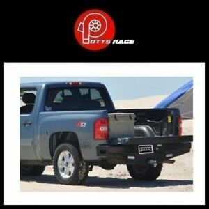 Ranch Hand Width Black Rear Hd Bumper Fits 07 13 Silverado 1500 Sport Series