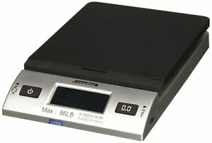 Accuteck S 86 Lb All in one Silver Digital Shipping Postal Scale With Adapter