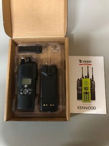 Kenwood Viking Vp900 Vhf Dual band Portable Radio 700 800 Mhz