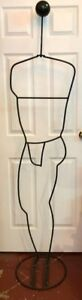 Vintage Iron Rod Dress Form Mannequin Shipping Available