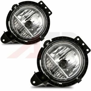 Fit 07 2015 Mini Cooper Clear Lens Fog Light Lamp Assembly Replacement