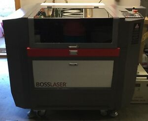 Laser Engraver Boss Laser Ls1630 Slightly Used Less Than 100 Hours