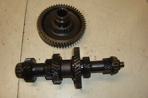 1955 Ford 860 Tractor 5 Speed Transmission Top Shaft Assembly 800