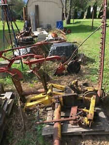 Ih Mid Mount Sickle Bar Mower