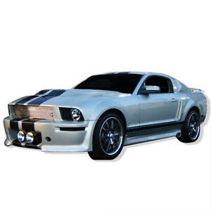For 2005 2009 Ford Mustang Eleanor Style Side Skirts Body Kit S 152s
