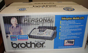 Brother Fax 575 Plain Paper Fax Phone Copier New