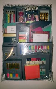 71 Pcs Stationary School Supply Gift Set Notepad Notebook Pen Pencil Marker