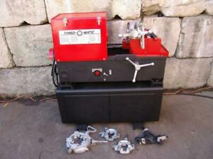 Thred O Matic 33 Pipe Threader Up To 1 2 To 4 Inch Collins Rothenberger Ridgid