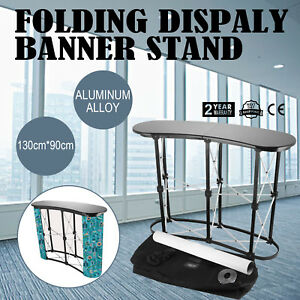 Pop Up Podium Counter Table Promotion Retail Speech Trade Show Display Stand