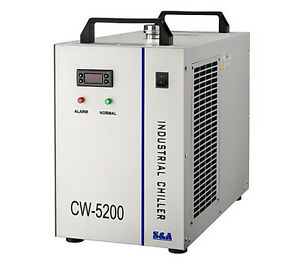 220v Industrial Water Chiller Cw 5200 For Cooling 150w Co2 Laser Tube