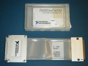 Ni Daqcard 6533 Pcmcia 32 bit Digital pattern Io National Instruments tested