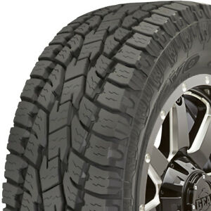 2 New P255 70r17 Toyo Open Country At Ii 255 70 17 Tires