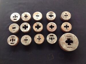 Greenfield Gtd Corp Little Giant Die Threader Machinist Lot Of 15 Made In Usa