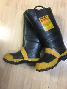 Nwt Servus Firebreaker Firefighter Boots Safety Toe Usa Men s 6 5 W Women s 7 5