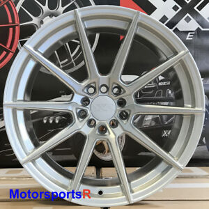 Xxr 567 Wheels 18x9 5 20 Silver Rims 5x4 5 Mitsubishi Evolution Evo X Fe Mr Gsr